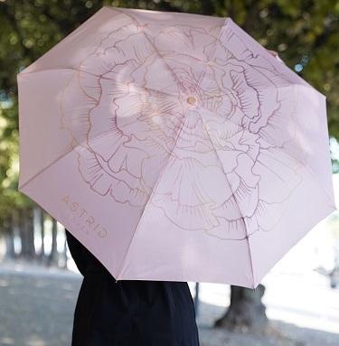 pink umbrella astrid loven