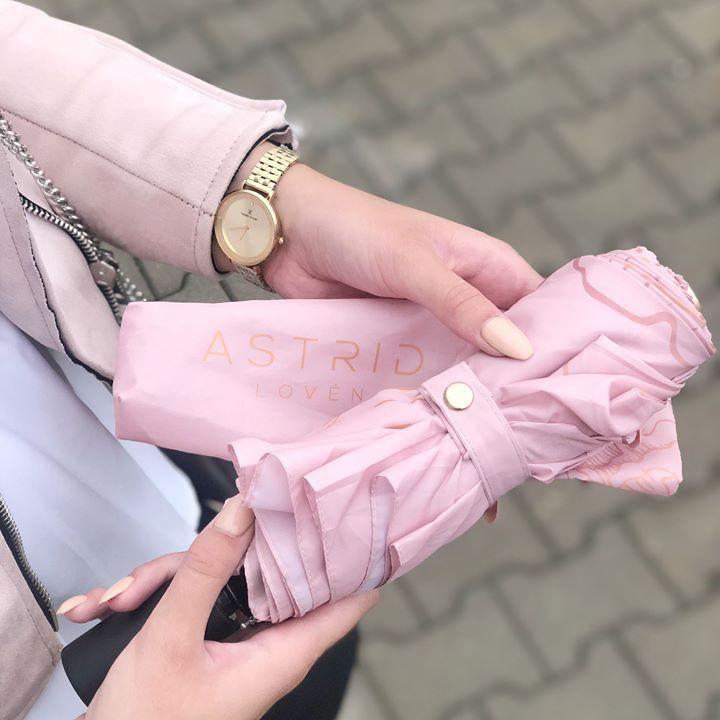 Astrid Loven Pink Umbrella