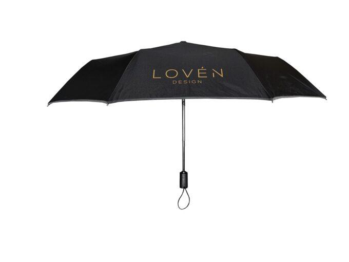 Must vihmavari helkuriga LOVEN otsevaates