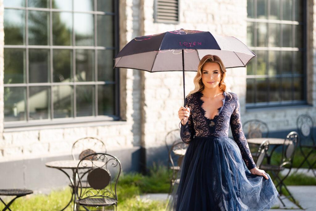 Naiselikud vihmavarjud kingituseks LOVÉN
