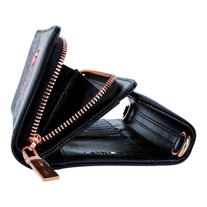 Musta rahakoti külgvaade LOVEN