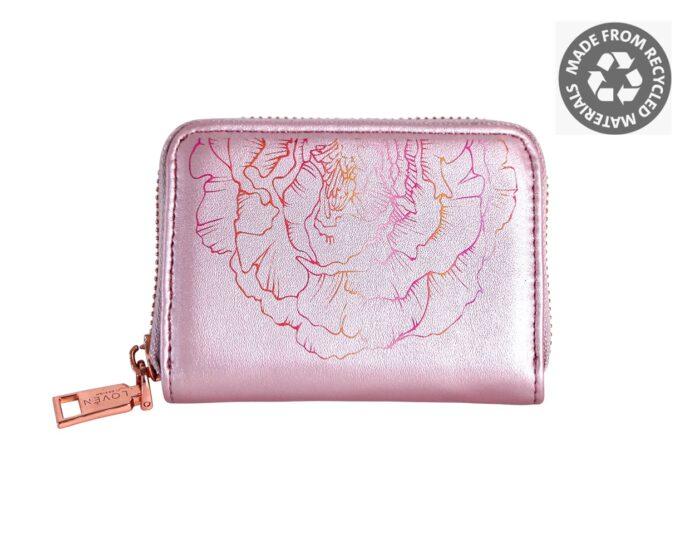 Väike roosa rahakott LOVÉN RECYCLED